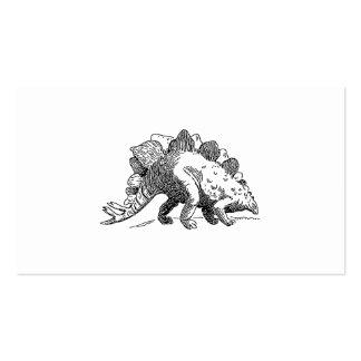Stegosaurus Business Card Template