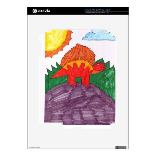 Stegosaurus Calcomanías Para iPad 2