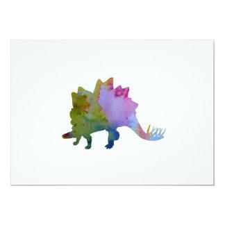 Stegosaurus Card