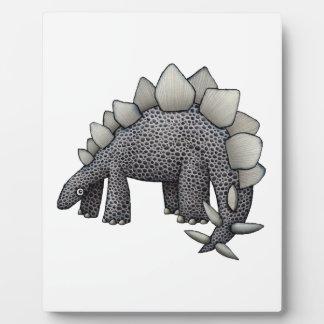 Stegosaurus Cartoon Plaque