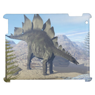 Stegosaurus dinosaur - 3D render iPad Covers