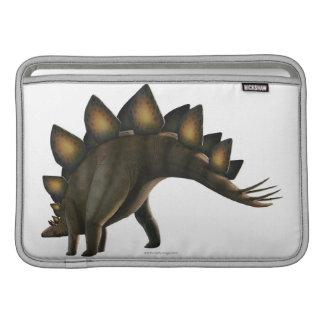 Stegosaurus dinosaur, computer artwork. sleeves for MacBook air