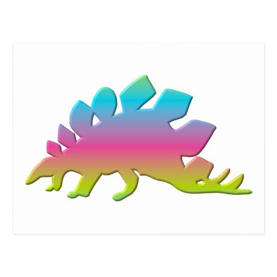 Stegosaurus Dinosaur Postcard