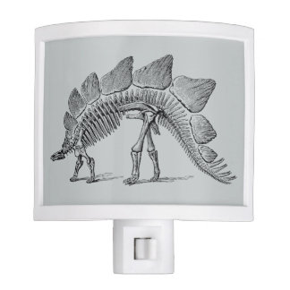 Stegosaurus Dinosaur Skeleton Night Light