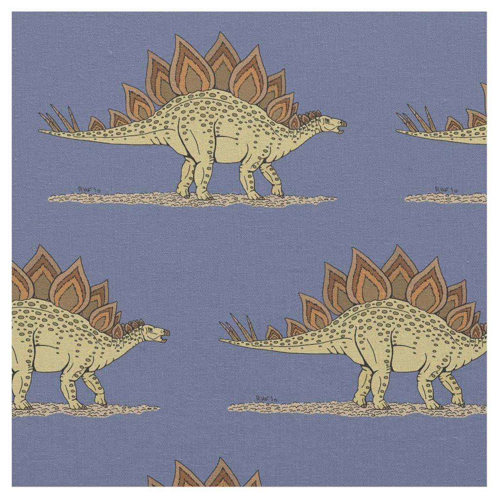 Stegosaurus Fabric