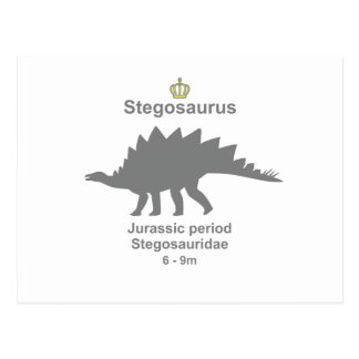 Stegosaurus g5 postcards