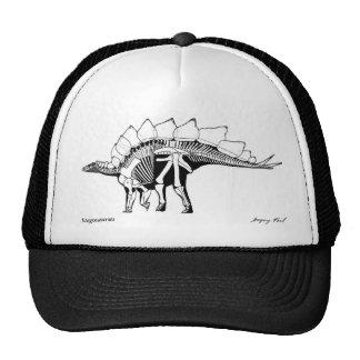 Stegosaurus Gregory Paul del gorra del dinosaurio