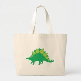 Stegosaurus Large Tote Bag