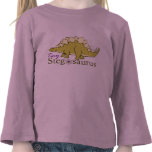 Stegosaurus minúsculo camisetas
