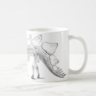 stegosaurus classic white coffee mug