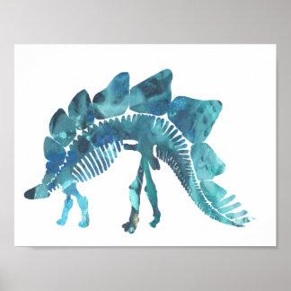 Stegosaurus Póster