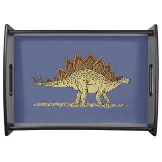 Stegosaurus Serving Tray
