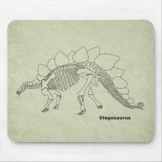 Stegosaurus Skeleton Mousepad