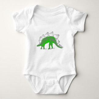 stegosaurus skeleton tshirt
