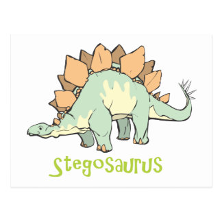 Stegosaurus Postal