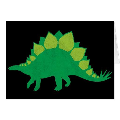 Stegosaurus Tarjetas