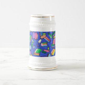 Steign flotante de la cerveza de los colores jarra de cerveza