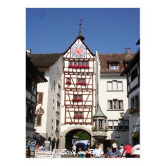 Stein am Rhein, Suiza Postales