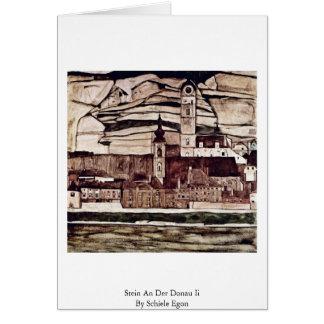Stein An Der Donau Ii By Schiele Egon Card
