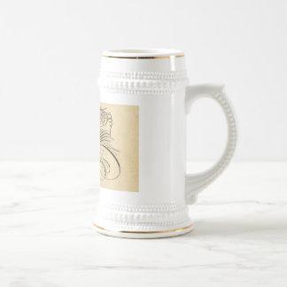 Stein antiguo elegante del águila jarra de cerveza