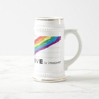 Stein blanco inocente taza