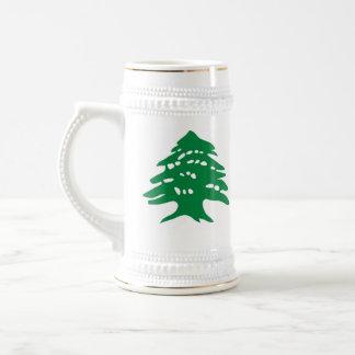 stein - cedro libanés jarra de cerveza