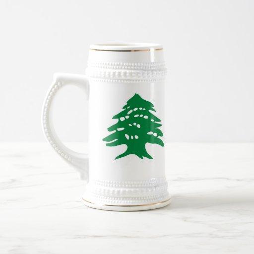 stein - cedro libanés tazas