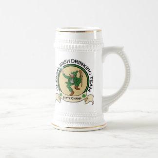 Stein de consumición irlandés de la cerveza del eq taza de café