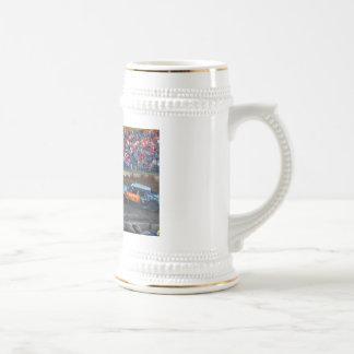 stein de la cerveza de derby de la versión parcial tazas de café