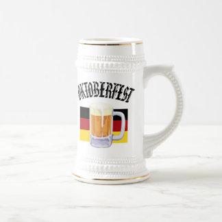 Stein de la cerveza de Oktoberfest Jarra De Cerveza