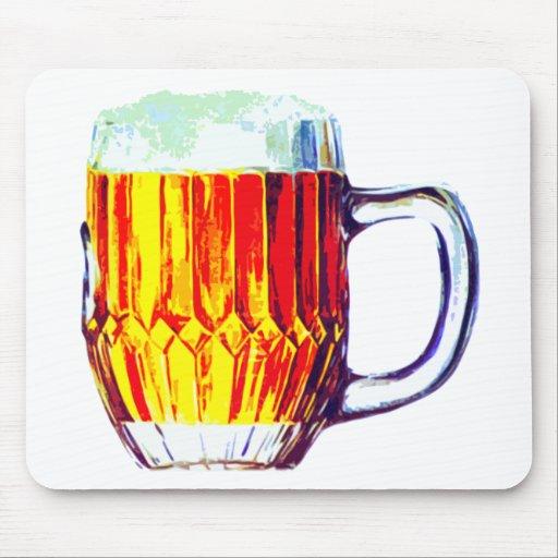 Stein de la cerveza inglesa tapete de raton