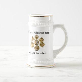 Stein de la maestría +3 jarra de cerveza