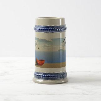 stein de la playa jarra de cerveza