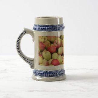 stein de las manzanas jarra de cerveza