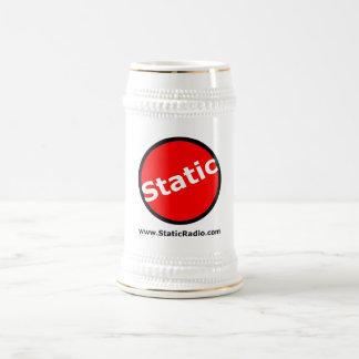 Stein de radio estático jarra de cerveza