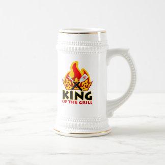 Stein de rey Of The Grill Jarra De Cerveza