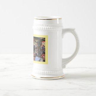 """Stein del arte de la """"barra abierta pasada"""" de Sie Tazas De Café"""