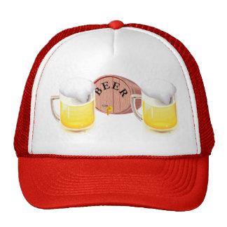 Stein del barrilete de cerveza y de la cerveza gorra