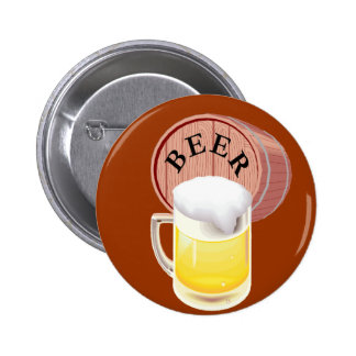Stein del barrilete de cerveza y de la cerveza pin
