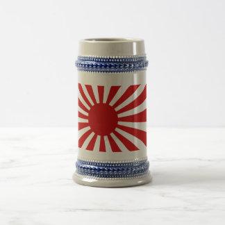"""Stein del """"kanpai"""" del sol naciente jarra de cerveza"""