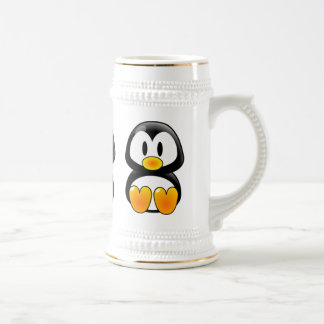 stein del tux del pingüino del bebé tazas