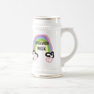 stein del unicornio jarra de cerveza