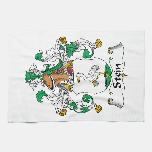 Stein Family Crest Towels