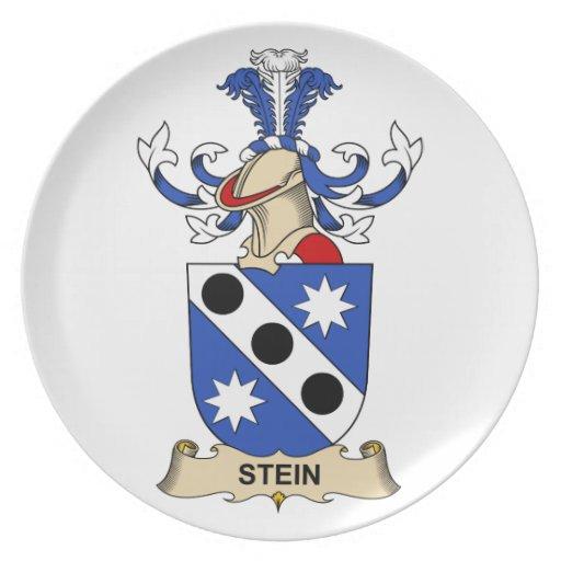 Stein Family Crest Plate