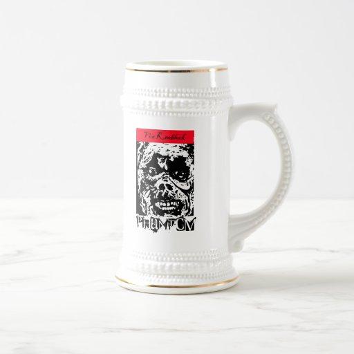Stein fantasma de la cerveza de Von Knoblock Taza