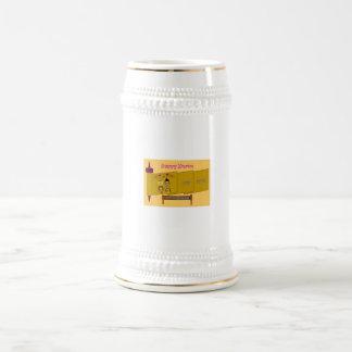 Stein feliz de Purim Jarra De Cerveza
