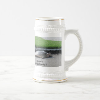 Stein/Golf/Turtle/Funny/Sports Beer Stein