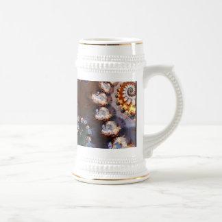Stein hermoso del fractal taza
