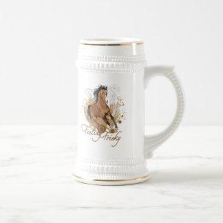 Stein juguetón de sensación jarra de cerveza