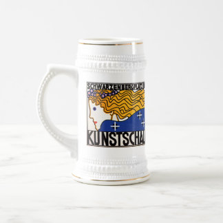 Stein:  Kunstschau Wien por Loffler Jarra De Cerveza